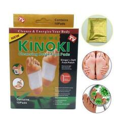 Kinoki Premium Ginger Detox Foot Pads Patch Organic Herbal Cleansing Detox Pads