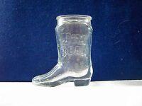 Jim Beam Bourbon Whiskey Boot Shot Glass shotglass
