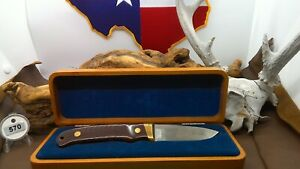 Vintage Schrade Special Edition PH2 Fixed Blade w/Wood Presentation Box