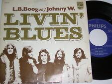 "7"" - Livin Blues - L.B.Boogie & Johnny W. - Dutch 1971 # 5305"