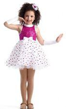 Polka Dot Ballet Dance Costume Ballerina Tap Baby Tutu Clearance Child X-Large