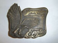 Belt Buckle Riveted Clip 1970s Original International Harvester Transtar Eagle