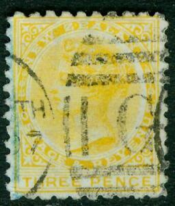 New Zealand. 1896. SSF. 3d. U.