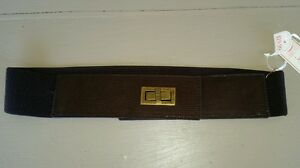 Womens belt - Jeans West - S/ M. CHOC SNAKE TEXTURED - NEW