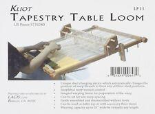 "NEW Tapestry 20"" Weaving Loom Wide Warping Oak Frame Craft Long Short Warp Rods"