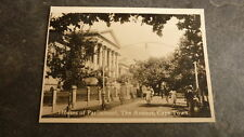 OLD 1930s SOUTH AFRICA PHOTOGRAPH, VIEW OF CAPE TOWN, THE PARLIAMENT