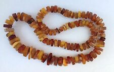 Gorgeous Vintage Natural Honey Baltic Amber Knotted Beads Necklace 57g