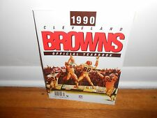 1990 CLEVELAND BROWNS OFFICIAL YEARBOOK