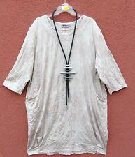 NEU ORINGO edel Crinkel Kleid Kleid Dress Robe XXXL 56 Lagenlook *