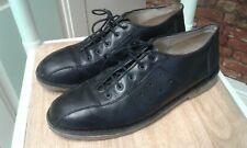 Mens IKON Black Leather Shoes  , size 9/43