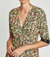 Vestido Zara estampado floral