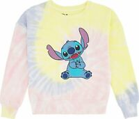 Minnie Mouse Satin Patch Sweatshirt White Ribbon,Pearls /& Iridescent Foil