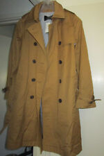 JCrew Outerwear Cotton City Trench Coat F5341 Nut Brown Camel
