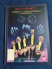 IDW Marvel Comics Artist Edition Bill Sienkiewicz Mutants Moon Knights Assassins