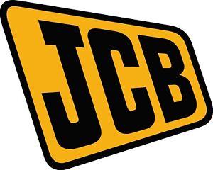 JCB Digger / Dumper Plant vinyl sticker decal various sizes - UK Seller