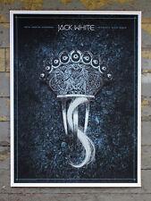 Alan Hynes Jack White Dublin, Ireland Poster White Stripes Dead Weather Europe