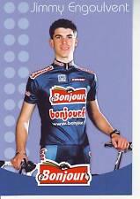 CYCLISME carte cycliste JIMMY ENGOULVENT équipe  BONJOUR.fr 2002