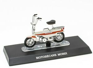 Mobylette MOTOBÉCANE MOBIX 1/18 Leo Models Miniature Scooter Moto M020