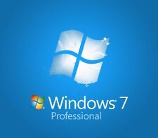 Windows 7 Professional Key COA Sticker with Broken PC 32 & 64 Bit Original