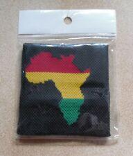 BRACELET EPONGE TENNIS AFRIQUE serre-poignet NEUF VERT JAUNE ROUGE AFRICA