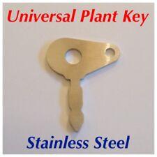STAINLESS STEEL Universal Ignition Key for LUCAS 35670, JCB, Massey Ferguson