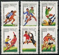 Hungary 1986 SG#3689-94 World Cup Football MNH Set #D4180