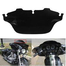 Dark Smoked Black ABS Windscreen Windsheild for Harley Electra Glide 96-13 11 12