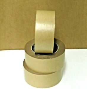 3 x Picture Frame Tape Brown Eco-Friendly Kraft Paper Tape 50m x 50m Strong