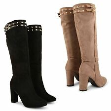 Unbranded Slip On Knee High Boots Casual Shoes for Women