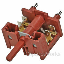 ZANUSSI Genuine 6 Position Oven Cooker Hob  Grill Selector Function  Switch