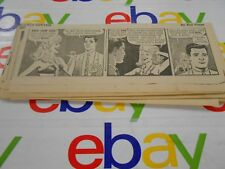 The Oregonian- April,1966- Comic Strips- Clipped- Buz Sawyer- Lot of 26