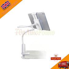 360º Lazy Bed Gooseneck Desk Mount Stand Holder For iPad Samsung Android Tablet