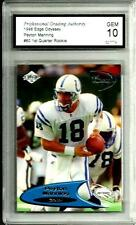 "1998  Edge ""Odyssey"" # 60 Peyton Manning ""1st Quarter Rookie"" 10  Denver Broncos"