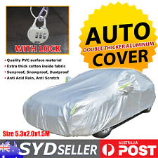 Ultra Thick Car Cover Aluminum UV Waterproof For Mercedes A/B/C Class Audi A3 A4