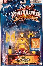 "Power Rangers Dino Thunder 5"" Yellow Dino Action Ranger - Weapons Form Megazord"