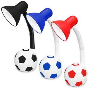 Football Desk Lamp Kids Playroom Bedside Night Light Table Lamp On/Off Button