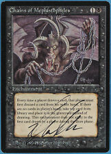 Chains of Mephistopheles Legends NM-M Reserved List Signed (ID# 36968) ABUGames