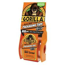 Gorilla Packaging Tape With Dispenser Refillable Tough Wide 283in X 20yd Clear