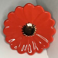 Nora Fleming Orange Flower Power - Gerber Daisy - Retired Mini