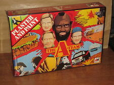 Vintage The A-Team Plaster and Paint set by Dekker Toys 1983 Chanell MISB NOS