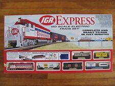 1997 Life Like HO Scale IGA Express Train Set Coca Cola Kraft Nestle Rayovac NIB
