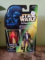 Rare New Sealed Star Wars Bespin Han Solo Figure 1997 Power of the Force
