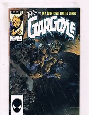 Gargoyle Complete Marvel Comics Limited Series # 1 2 3 4 1985 Copper Age BN8