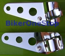 Hlbsch/ww19065-Scheinwerfer Klammern Metall verstellbar 28-36mm Chrom Universal