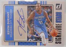 2014-15 Panini Donruss Kevin Durant SP Signature Stars Autograph Auto # 16 / 40