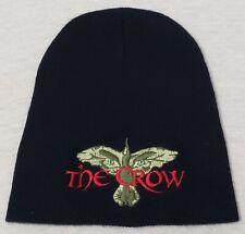 Vintage 1990s The Crow Movie Promo Beanie Knit Cap Winter Hat Brandon Lee RARE
