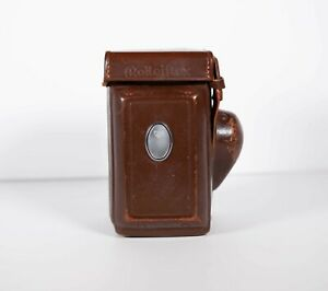 [EX++] Genuine Vintage Leather Case for Rolleiflex 3.5F With Light Meter Cover