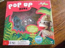 2011 Cardinal Sock Jungle POP~UP Simon the Sock Monkey Game For Ages 4+~~NIB!!