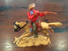 Timpo New Zealand Mounted Cowboy - Rare Colours - Wild West - 1970's