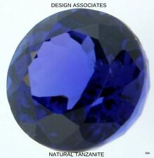 TANZANITE  ROUND  NATURAL GEMSTONE LOT LOOSE 4.0 MM GEMSTONES